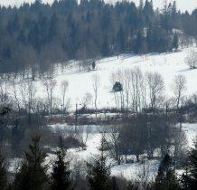 widoczna linia kolejowa w okolicy przystanku Sokolniki Górskie