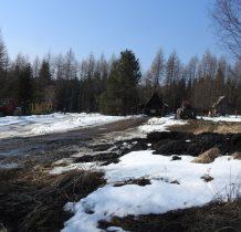 baza leśna Nadleśnictwa Stuposiany