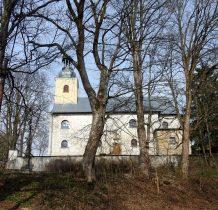 kościół murowany w miejce drewnianego z 1597 roku