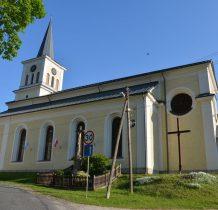 kościół z 1823 roku-do jego budowy wykorzystano kamienie z rozbieranego fortu Wilhelma