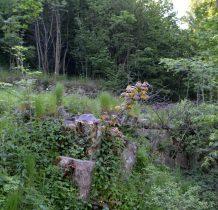 kamienne ruiny dawnych budynków