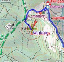 położenie na mapie kaplicy-współrzędne