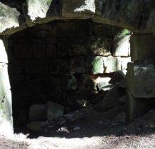 naturalną ochronę fortu stanowiła dolina rzeki Bystrzycy