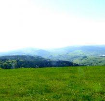 rozległa panorama ze szczytu