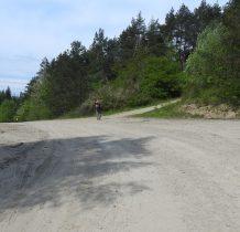droga prowadzi dalej do przełęczy pod Kiczerą-my kierujemy się w prawo na Połoński Wierch
